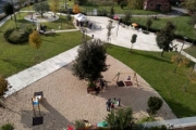 Parco Casale Rosso ad un anno dall'inaugurazione